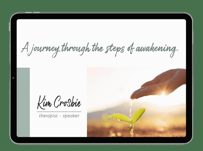 webinar a journey through the steps of awakening